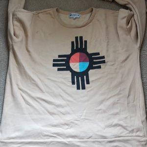 Wildfox oversized  sweatshirt